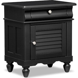 Seaside Nightstand - Black