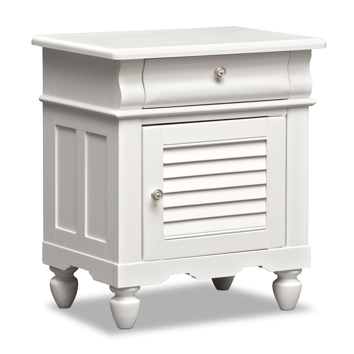 Seaside Nightstand - White