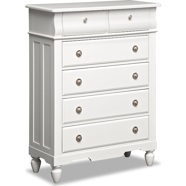 Kids Furniture - Seaside Chest - White