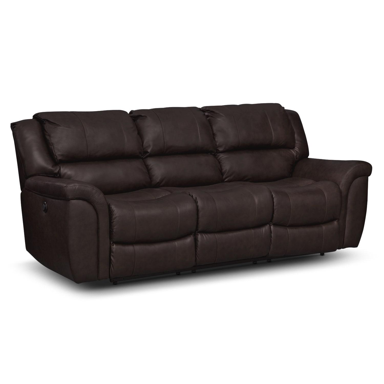 [Aquarius II Dual Power Reclining Sofa]