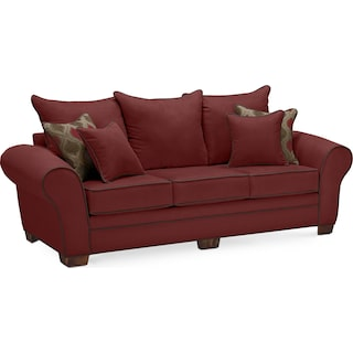 Rendezvous Sofa - Wine