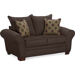 Rendezvous Loveseat - Chocolate