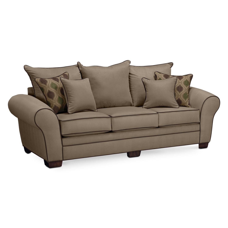 Living Room Furniture - Rendezvous III Sofa