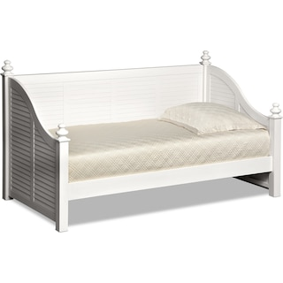 Seaside Twin Daybed - White