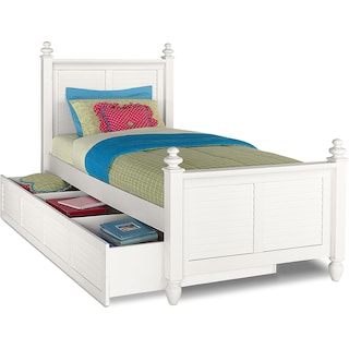 Seaside Youth Trundle Bed