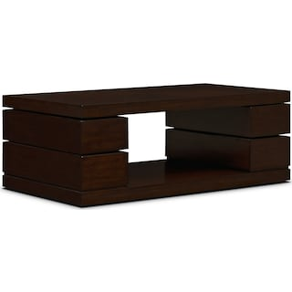 Prestige Cocktail Table - Brown