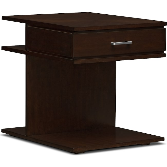 Accent and Occasional Furniture - Prestige End Table - Brown