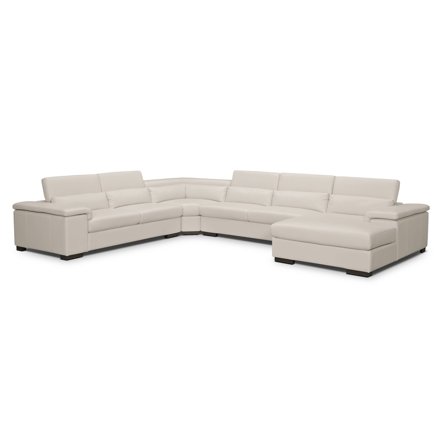 Living Room Furniture - Ventana 4 Pc. Sectional