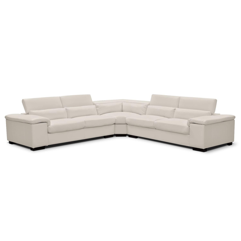 Living Room Furniture - Ventana 3 Pc. Sectional