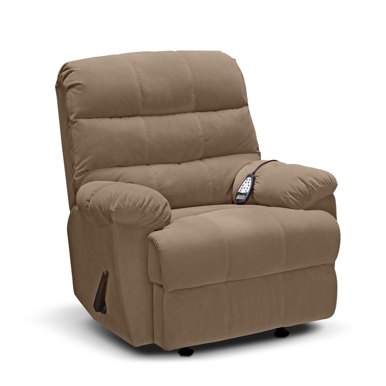 Living Room Furniture - Atlantic Massage Rocker Recliner