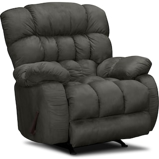 Sonic Manual Rocker Recliner - Graphite