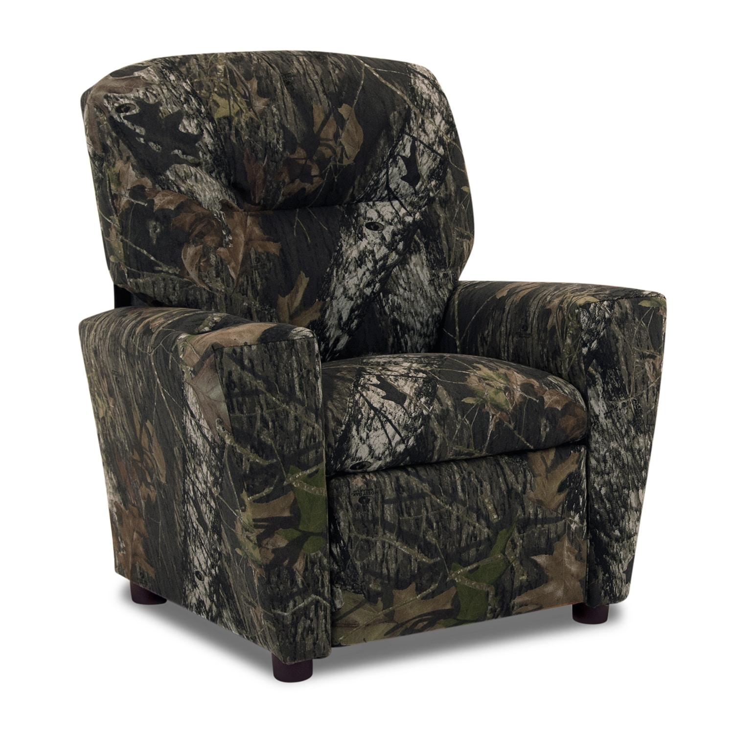 Living Room Furniture - Mossy Oak Child's Recliner - Camouflage