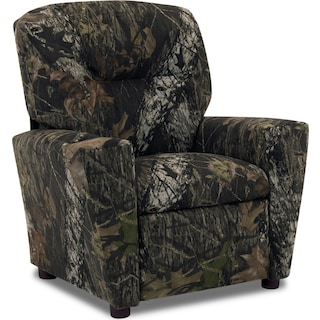 Mossy Oak Child's Recliner - Camouflage