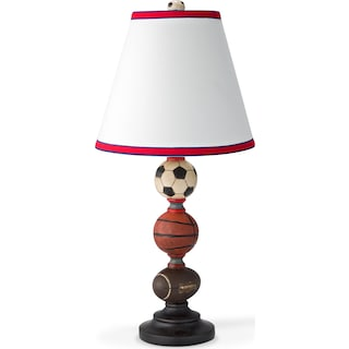Sports Balls Table Lamp