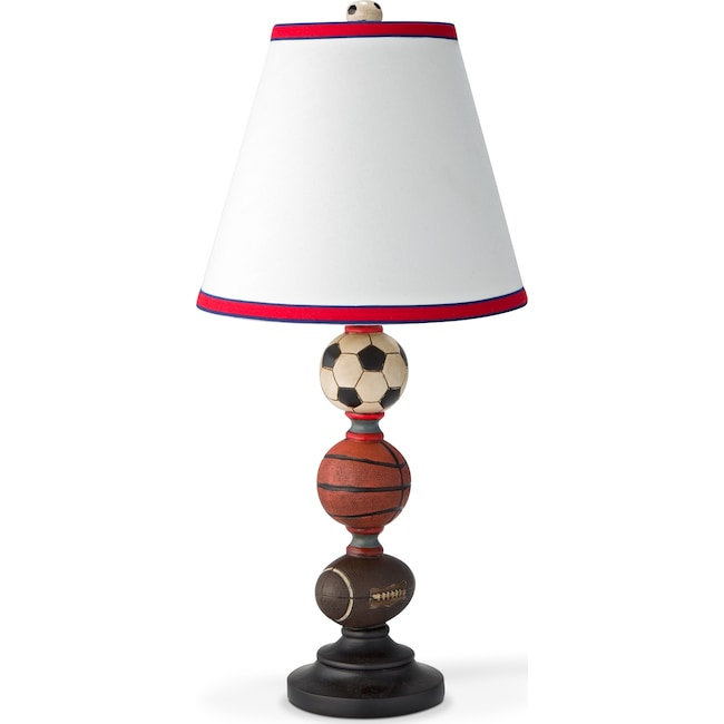 Kids Furniture - Sports Balls Table Lamp