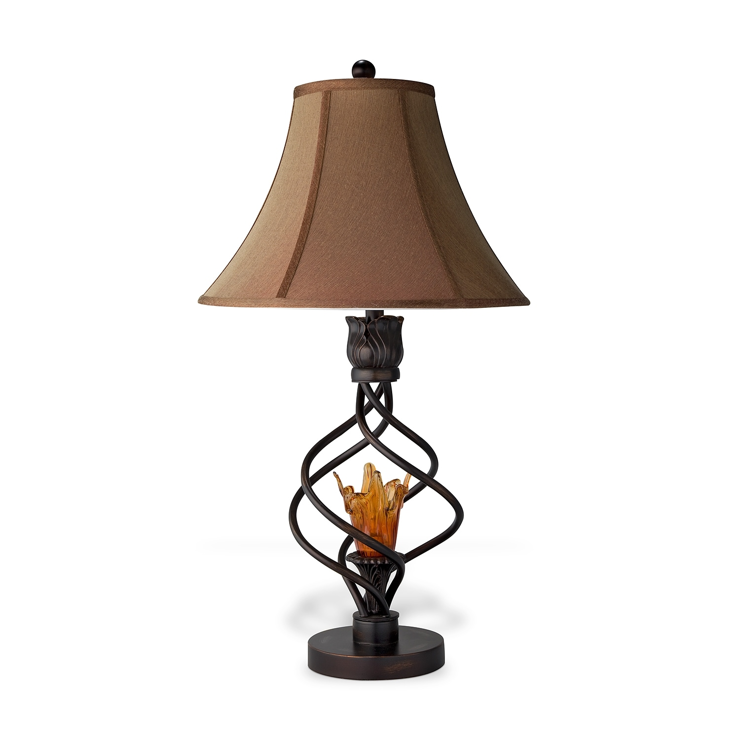 Fire Light Table Lamp