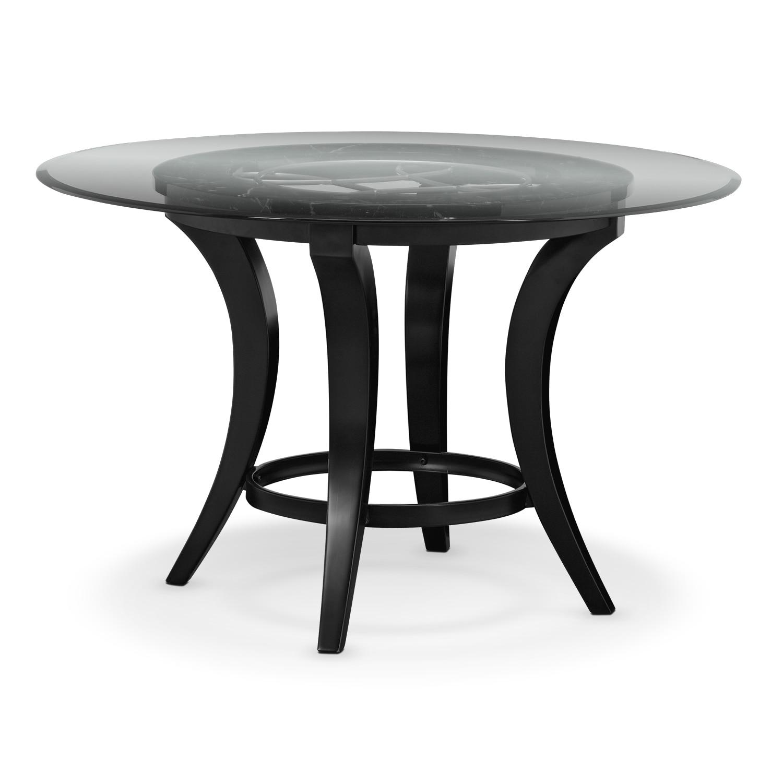 Dining Room Furniture - Pandora Dining Table - Black