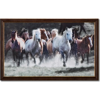 Spirit Runners Framed Print