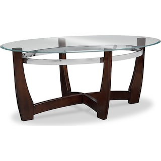 Alcove Coffee Table and 2 End Tables