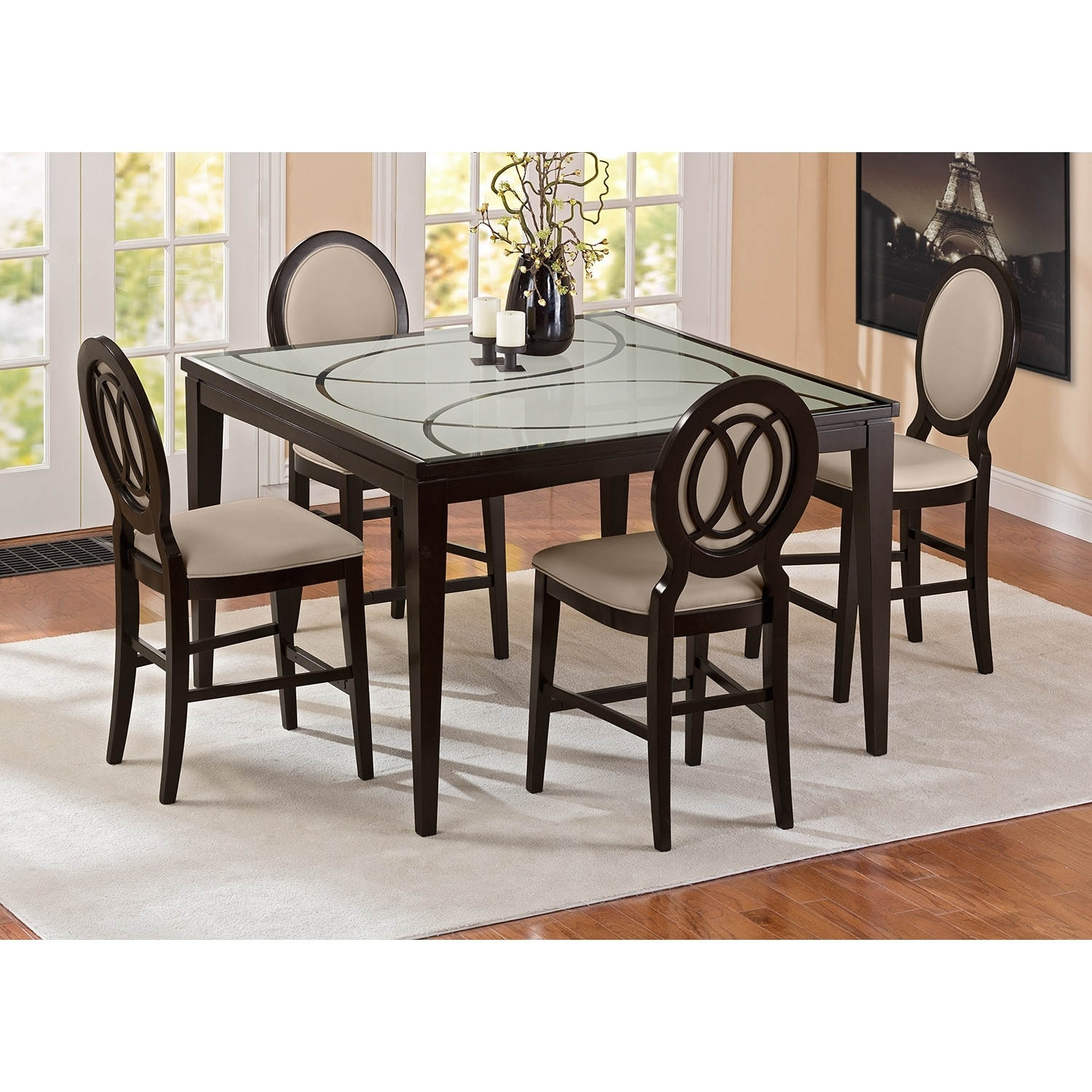 click to change image - Counter Height Chairs