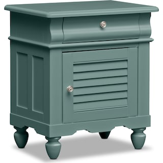 Seaside Nightstand - Blue