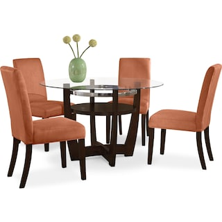 Alcove Dinette With 4 Side Chairs