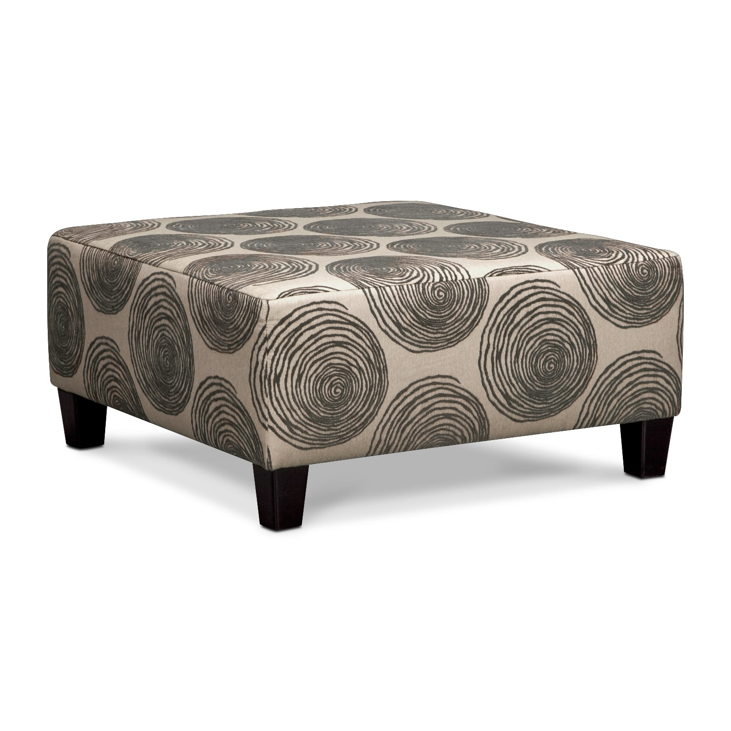 Living Room Furniture - Cordelle Ottoman