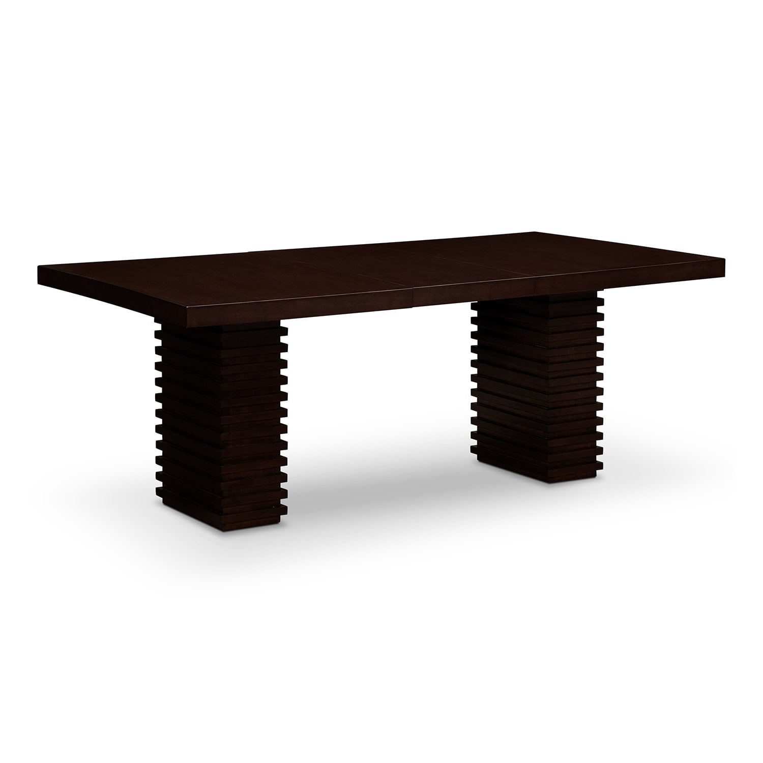 Paragon Dining Table - Merlot