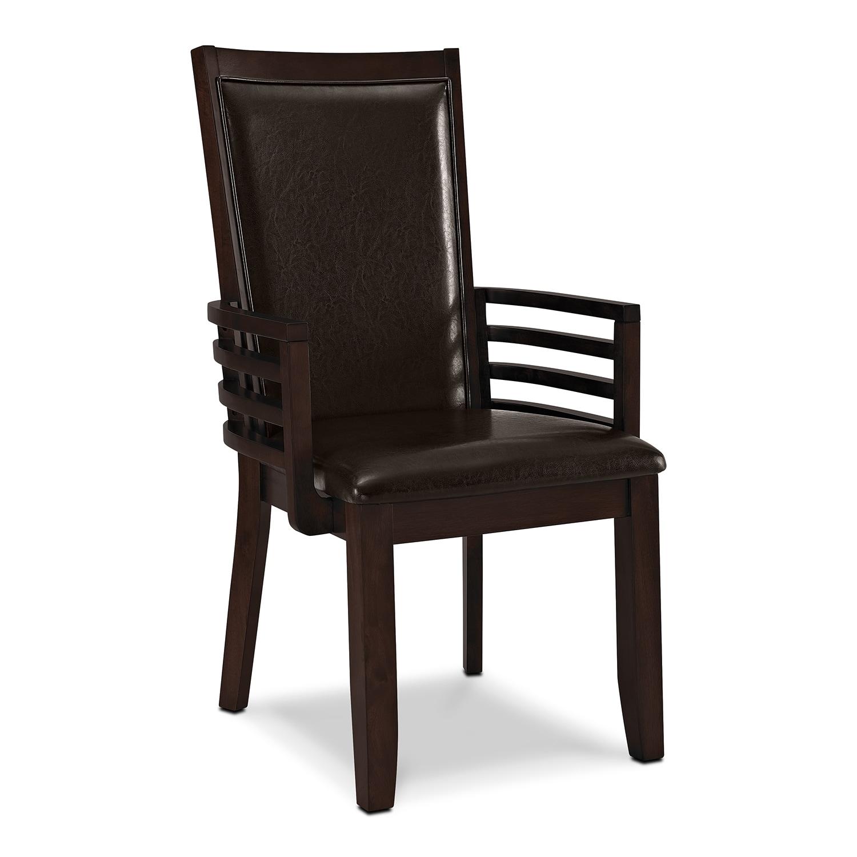 Paragon Arm Chair - Brown