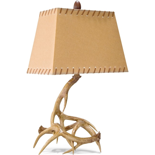 Home Accessories - Antlers Table Lamp