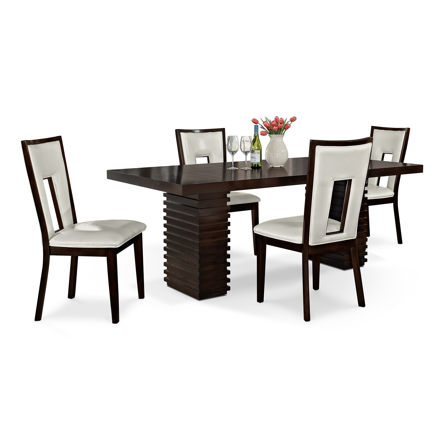 Dining Room Furniture - Paragon Madera II 5 Pc. Dinette