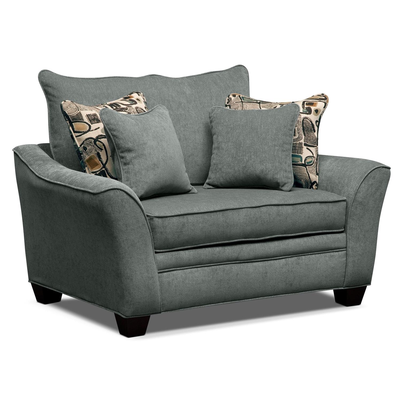 Living Room Furniture - Mandalay II Chair and a Half