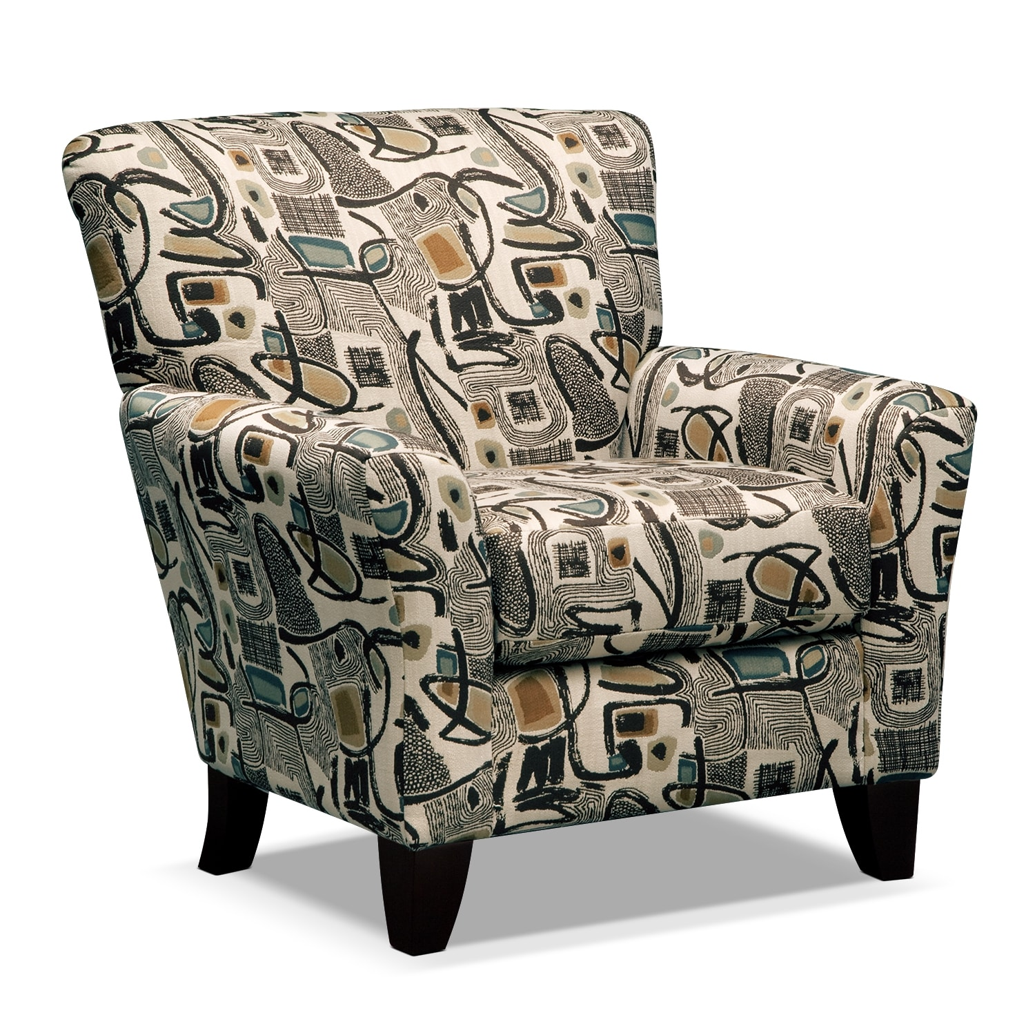 Living Room Furniture - Mandalay Accent Chair