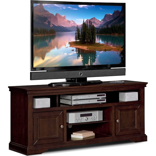 "Entertainment Furniture - Jenson 60"" TV Stand - Cherry"