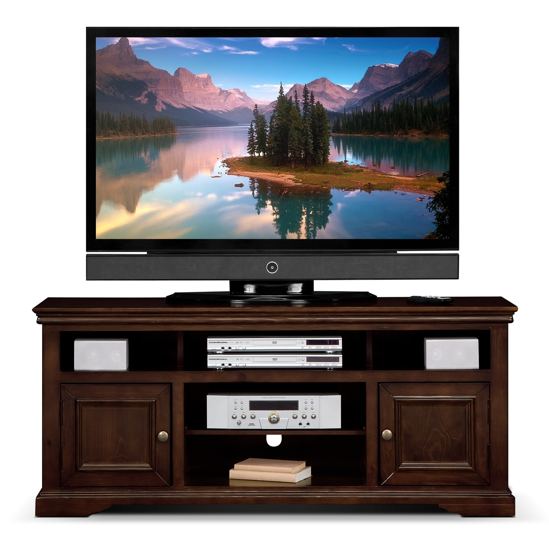 jenson 60 tv stand cherry american signature furniture