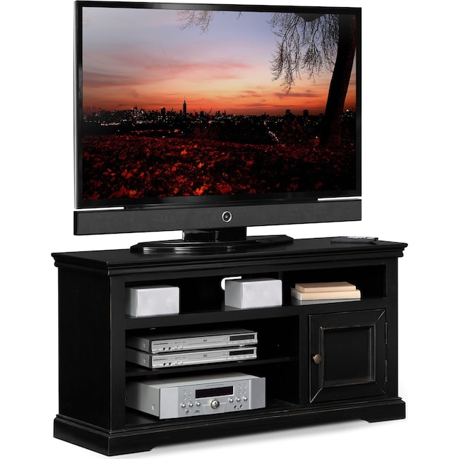"Entertainment Furniture - Jenson 50"" TV Stand - Black"