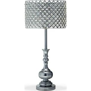 Glass Acrylic Table Lamp
