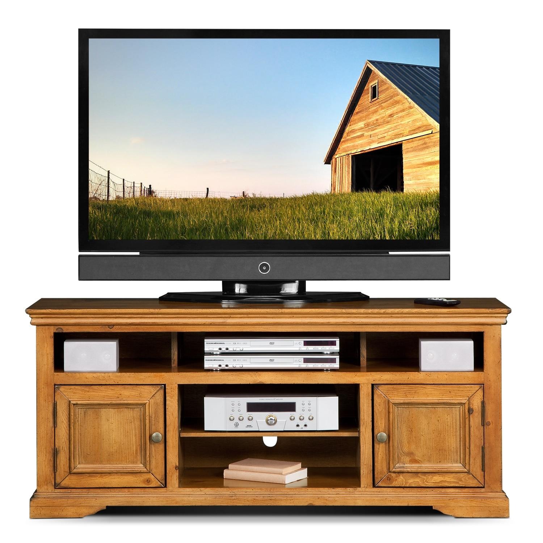 jenson 60 tv stand pine american signature furniture