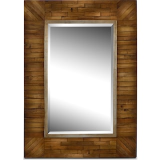 Cole Mirror - Natural Wood