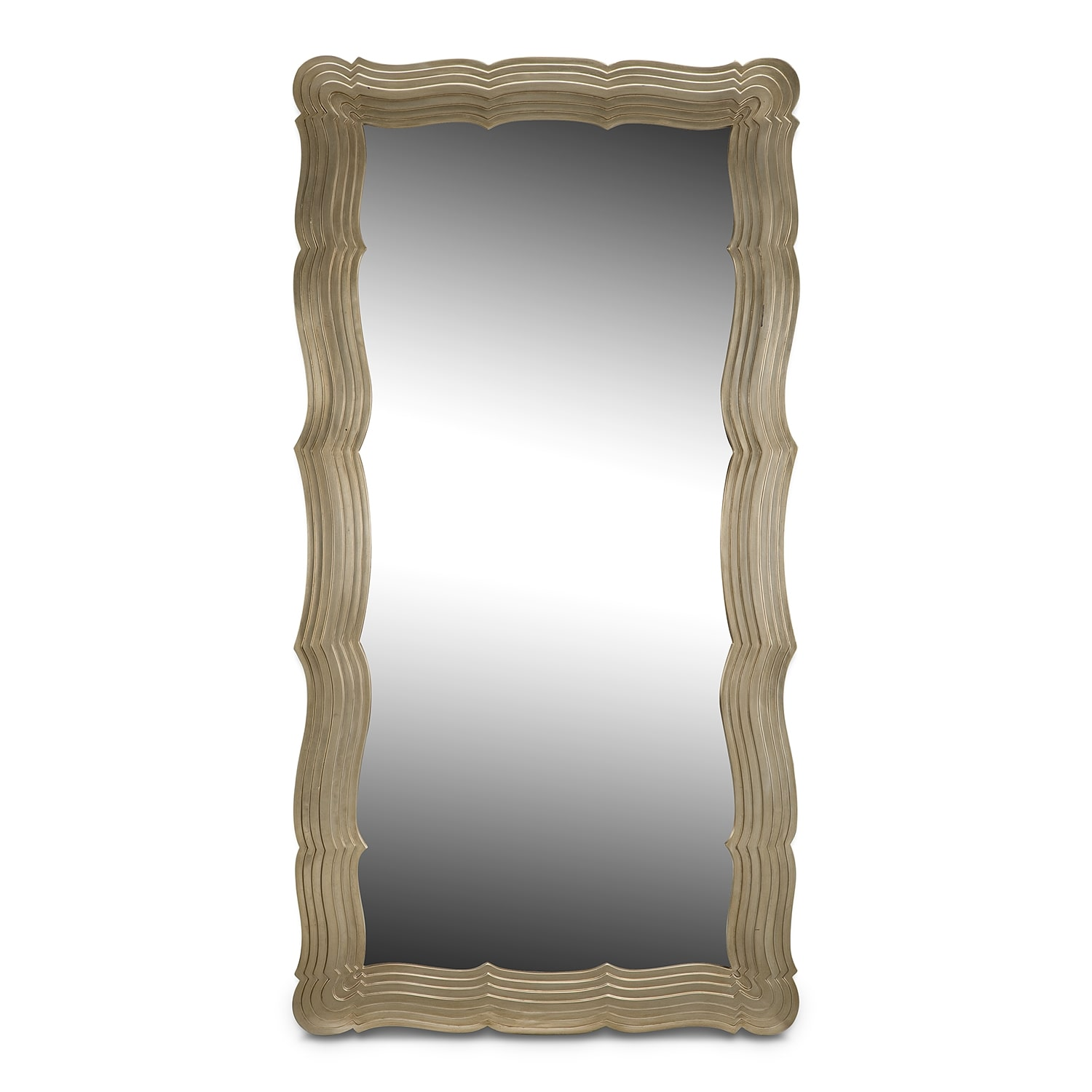 Bella Antique Floor Mirror
