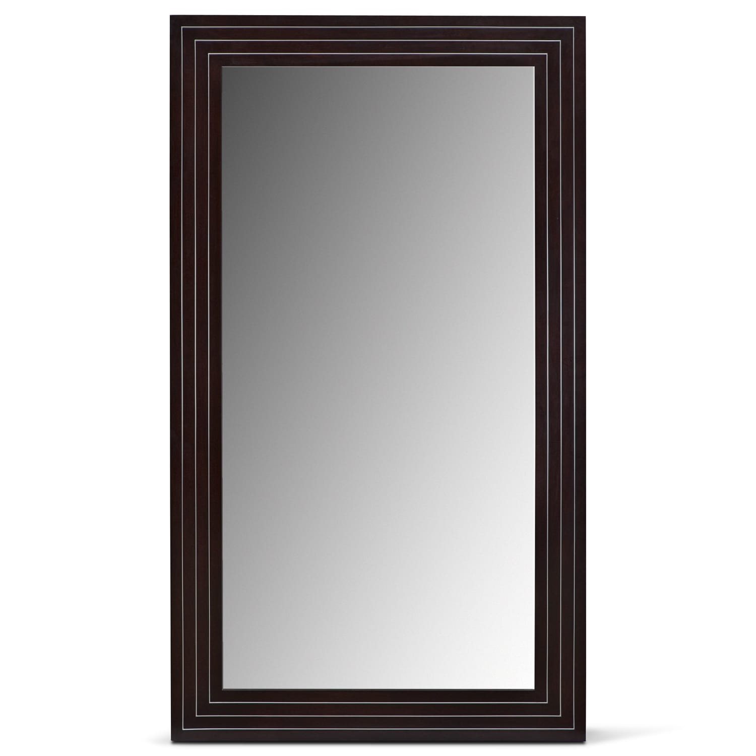 Wyatt Floor Mirror - Black