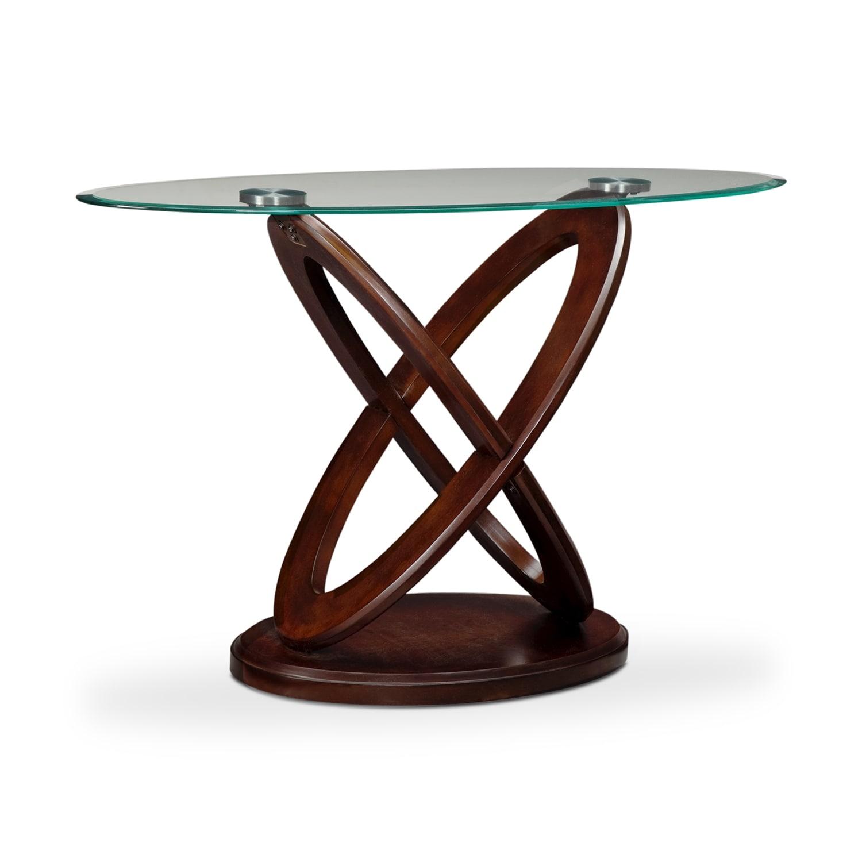 Accent and Occasional Furniture - Atlas Sofa Table - Dark Merlot