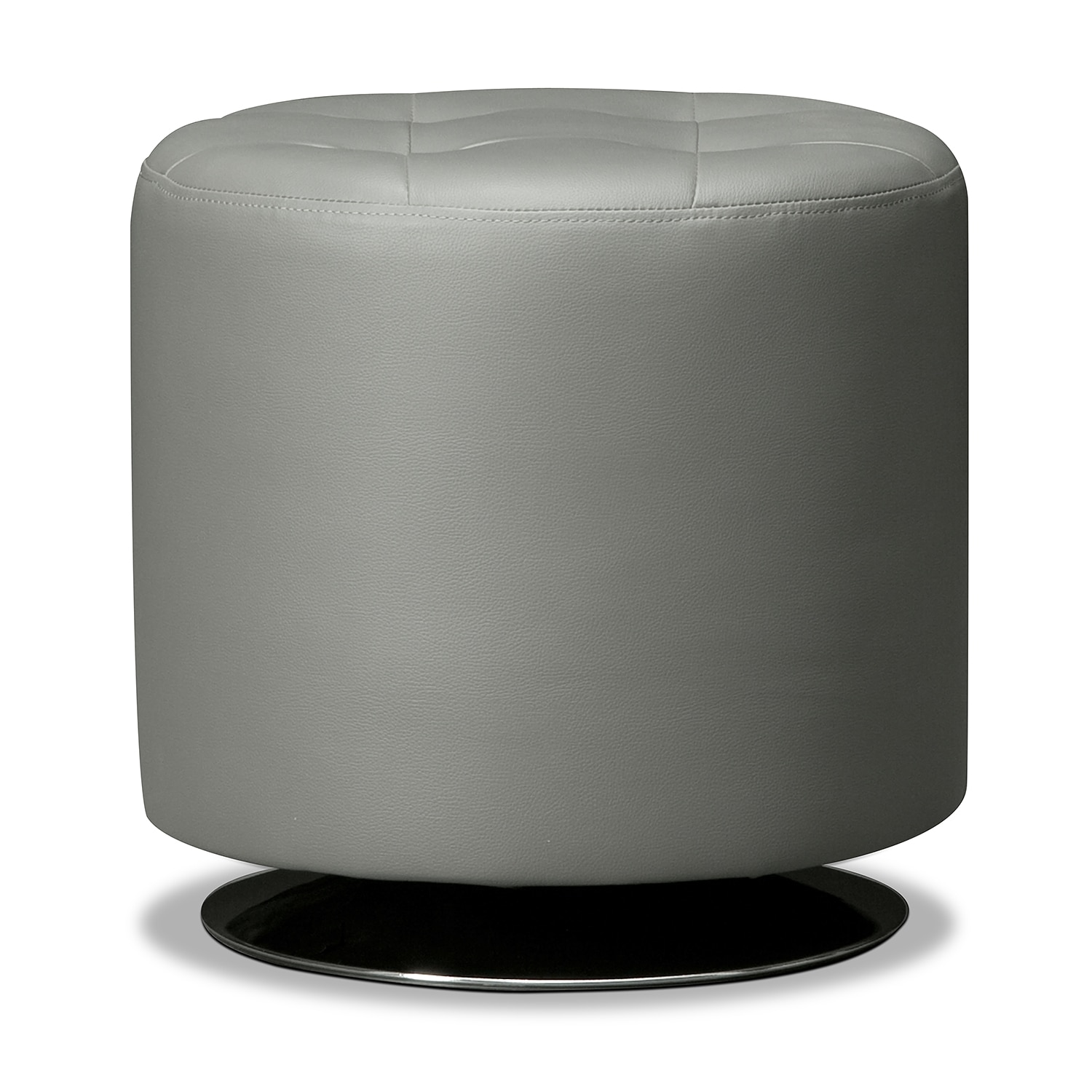 Accent and Occasional Furniture - Dominic Swivel Ottoman