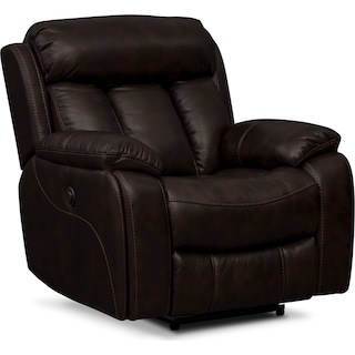 Diablo Power Recliner - Walnut