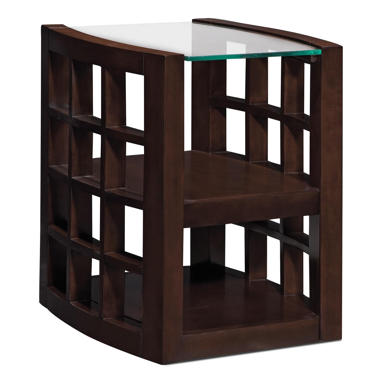 American Signature Furniture Daytona #21: Daytona Chairside Table
