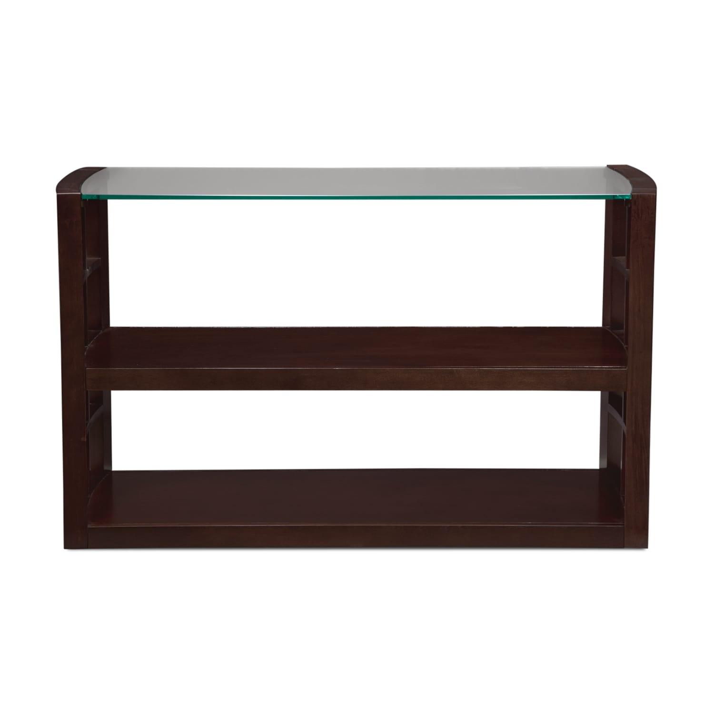 Charming American Signature Furniture Daytona #13: ... Accent And Occasional Furniture-Daytona Sofa Table - Merlot ...
