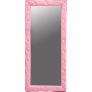 Valerie Floor Mirror - Pink