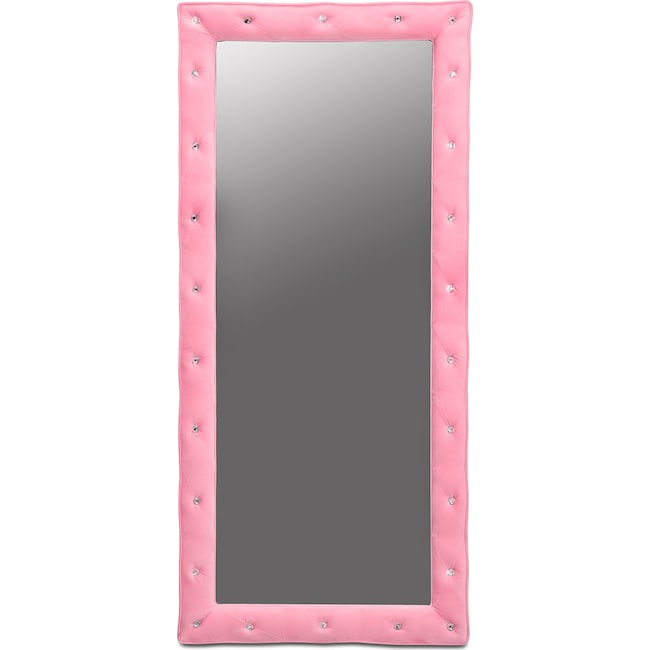Kids Furniture - Valerie Floor Mirror - Pink