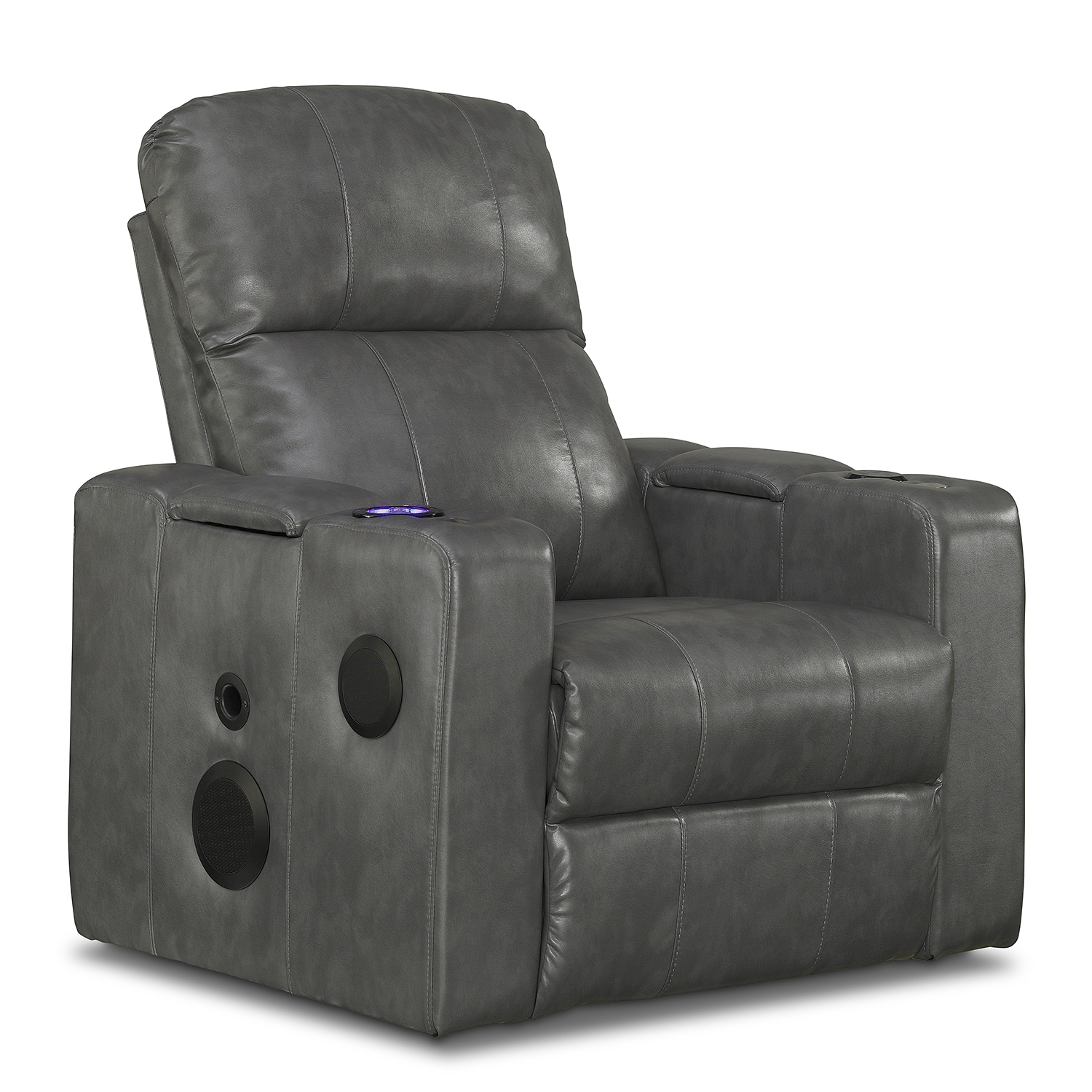 Living Room Furniture - Apollo Home Theater Recliner