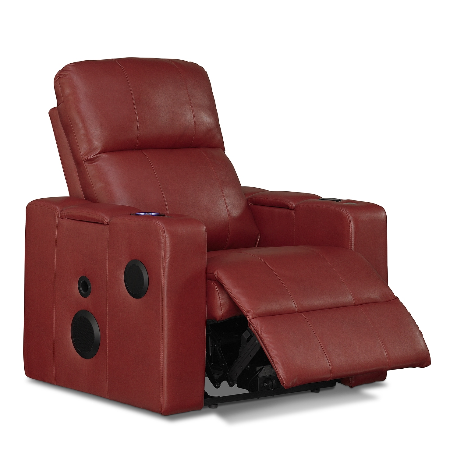 Apollo Leather Home Theater Recliner American Signature Furniture